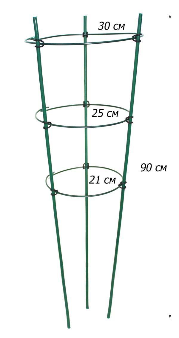 Поддержка для растений ZRостай  3 кольца IFR-90 N7021