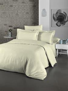 Комплект постельного белья LIGHTHOUSE  Exclusive Sateen STRIPE LUX кремовый  200*220/4*50*70