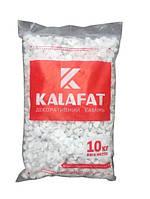 Декоративный Камень Белая Мраморная галька Kalafat (упаковка 10кг) Фракция 18-40 мм