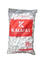 Декоративный Камень Белая Мраморная галька Kalafat (упаковка 10кг) Фракция 12-18 мм