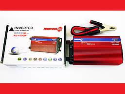 Инвертор 1000W 24V с вольтметром