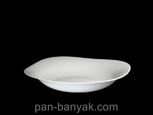 Тарелка глубокая BormioliRocco Parma 22,5х22,5 см стеклокерамика (498870 BR)