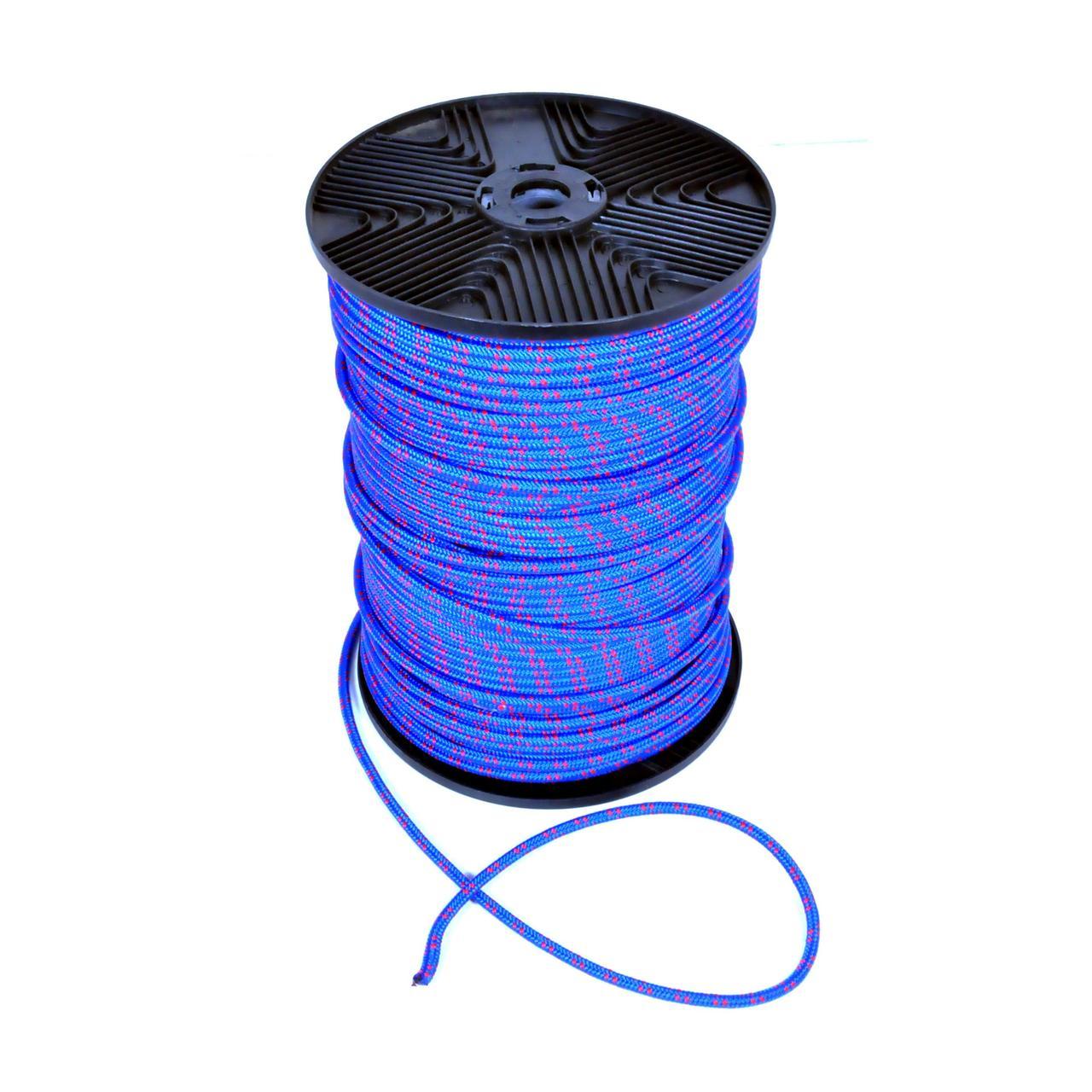 Веревка полипропилен 6мм 200м синяя 85106