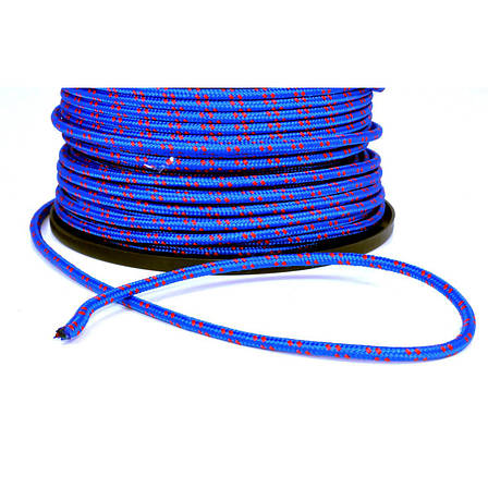 Веревка полипропилен 6мм 200м синяя 85106, фото 2
