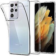Чехол Spigen для Samsung Galaxy S21 Ultra - Liquid Crystal, Crystal Clear (ACS02347)