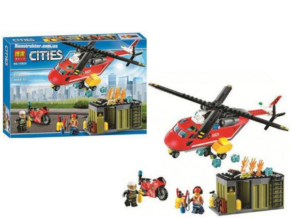 """Конструктор Bela cities """"Пожарная команда"""" арт. 10829"""