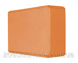Блок для йоги Sport Shiny SV-HK0154 Orange SKL41-227373