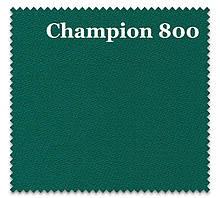 Сукно Champion 800 зеленого кольору для Російської Піраміди і Американського Пулу