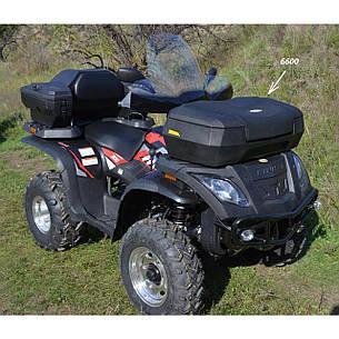 Кофра для квадроцикла универсальная ATV 6600 пластик 66 л 920х400х440, фото 2