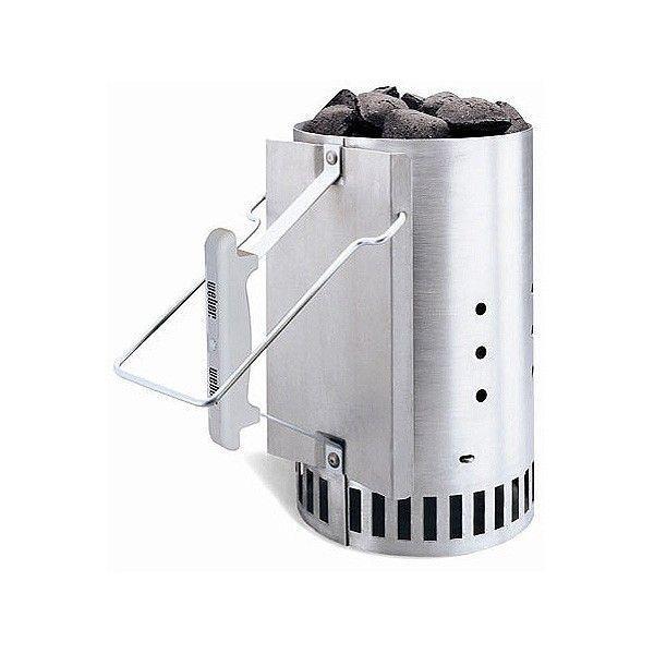 Стартер для розжига углей из алюминиевой стали 19 х 19 х 30 см Weber (7416)