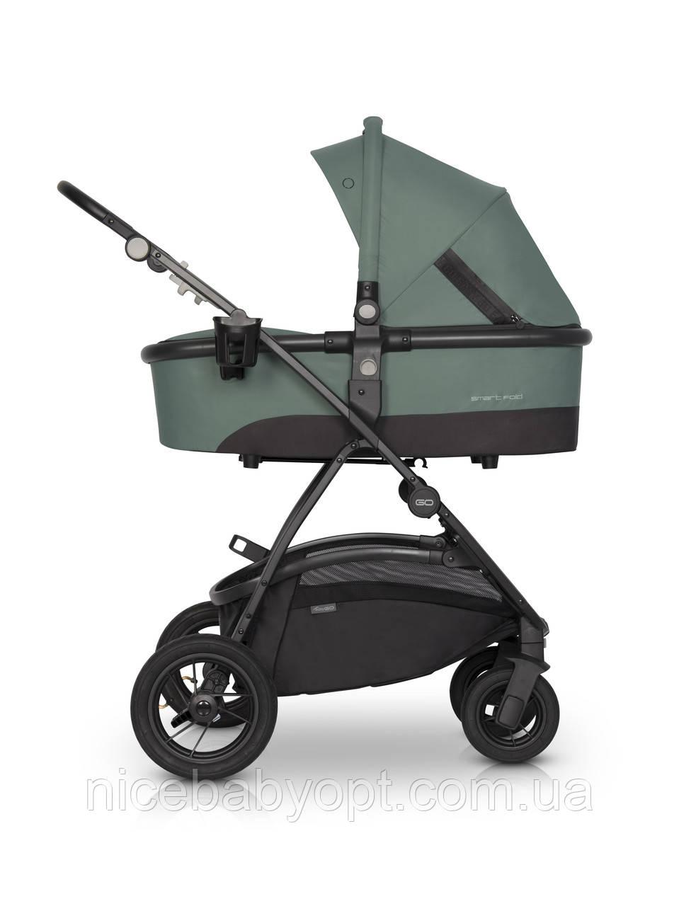 Дитяча універсальна коляска 2в1 EasyGo Optimo Air Agava