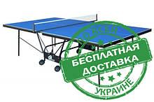 Тенісний стіл для приміщень Compact Strong M16 синього або зеленого кольору