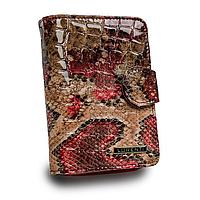Гаманець жіночий лаковий під рептилію Lorenti 76115-DR-RFID