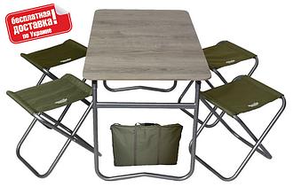 Комплект меблів розкладний з чохлом Novator SET-6 (100х60)