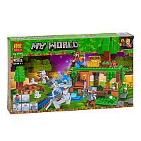 """Конструктор """"Minecraft"""" Bela 11138 """"Битва за сокровища"""""""