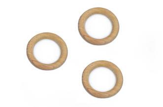 Деревянное буковое кольцо, 60мм