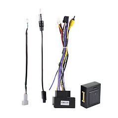 ISO адаптер Lesko для Peugeot Citroen + CAN BUS фишка