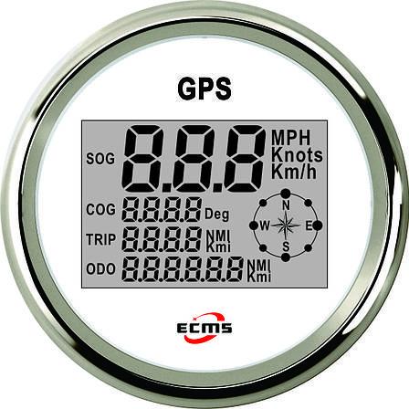 GPS спидометр в судно мультиэкран ECMS белый 900-00031, фото 2