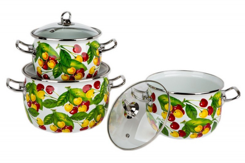 Набір посуду Epos Вкусняшка 6 предметів емаль (№1600 Вкусняшка)