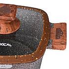 Набор кастрюль со стеклянными крышками, Lexical LG-440601-2, 6 предметов, фото 2