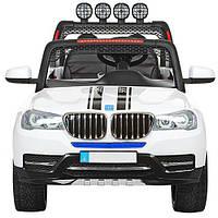 Детский электромобиль джип M 3118EBLR-1 BMW белый