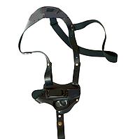 Кобура оперативная для ПМ, МР654К, кожаная формованная со скобой