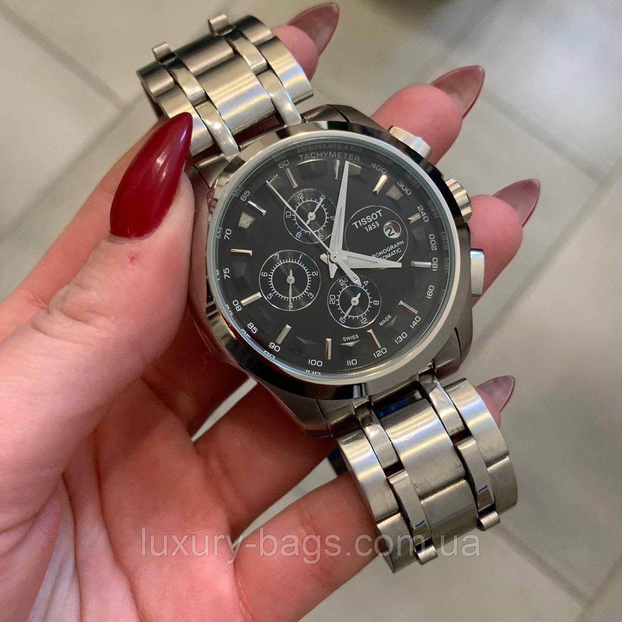 Чоловічі годинники Tissot T-Classic Couturier Chronograph Steel
