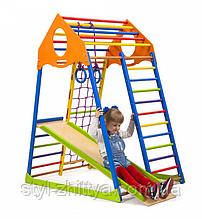 Дитячий спортивний комплекс KindWood 150 ECO