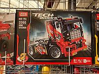 Конструктор jisi 3660 Truck Гоночный грузовик 2 в 1 ДРАГСТЕР (Аналог LEGO Technic 42041) 608 дет 38*26*7 см