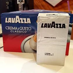 Кофе молотый Lavazza Crema e Gusto Classico 250гр. Лавацца эконом упаковка