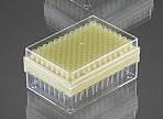Наконечник для пипеточного дозатора тип Eppendorf, Brand,Socorex, нестер. (0-200 мкл), желтый в штативе 96 шт.