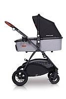 Детская универсальная коляска 2в1 EasyGo Optimo Air Grey Fox, фото 2