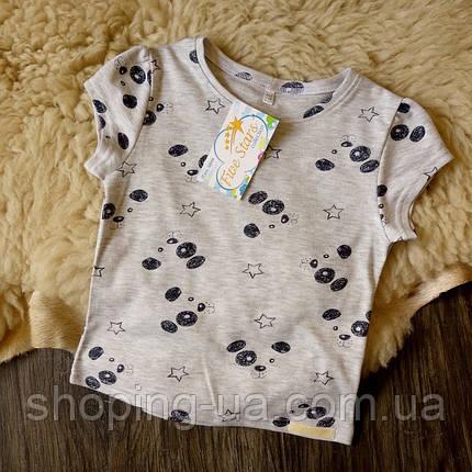 Детская футболка щенки на сером Five Stars KD0323-104p, фото 2