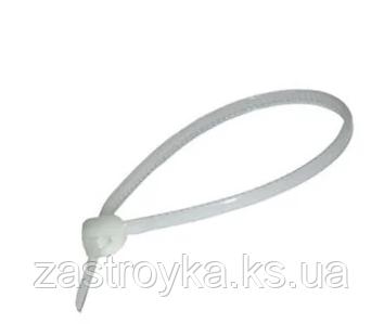 Хомут нейлон белый АВаТар 5х350мм, 100шт