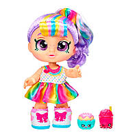 Кукла Moose Kindi Kids Рейнбоу Кейт Snack Time Friends (50023)