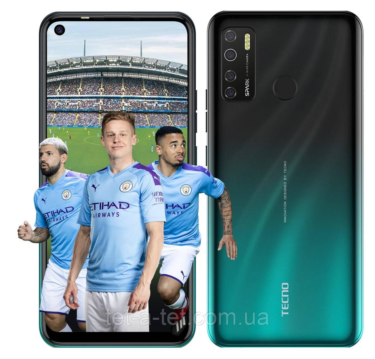 Смартфон TECNO Spark 5 Pro (KD7) 4/128GB Ice Jadeite (UA UCRF)