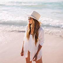 Стильная пляжная рубашка на пуговицах 42-46 р, фото 2