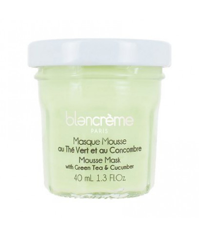 """Маска-мус для обличчя Blacreme """"Зелений чай і Огірок"""" 40 мл"""