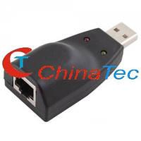 Сетевая карта USB 10/100 Mbps, фото 1