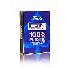 Пластикові картки | Fournier European Poker Tour (EPT) синя