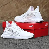 Мужские кроссовки Puma White, фото 1