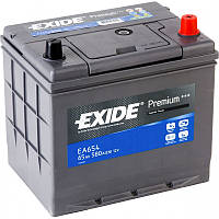 Аккумулятор 65Ah-12v Exide PREMIUM EA654 (230х173х222),R,EN580,Корея