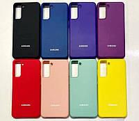 Чехол Silicone Cover для Samsung Galaxy S21+ 5G G996B (tp)