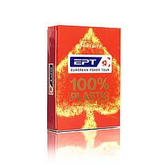 Пластикові картки | Fournier European Poker Tour (EPT) червона