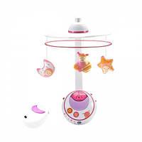 Игрушка-мобиль на кроватку Chicco Волшебные звездочки, розовый, 02429.10