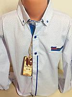 Детская рубашка 10-14лет