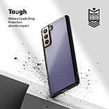 Чохол для Samsung Galaxy S21 Plus Ringke серії Fusion колір SMOKE BLACK (чорна димка), фото 3