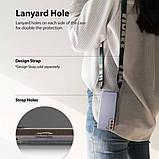 Чохол для Samsung Galaxy S21 Plus Ringke серії Fusion колір SMOKE BLACK (чорна димка), фото 9