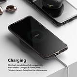 Чохол для Samsung Galaxy S21 Plus Ringke серії Fusion колір SMOKE BLACK (чорна димка), фото 10