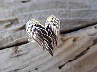 """Серебряное кольцо """"Ангельские крылья"""" от WickerRing"""